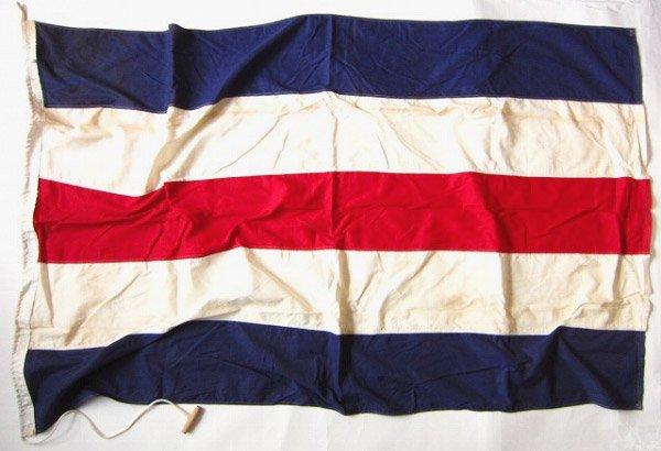 国際信号旗/C旗/ビンテージ/海上フラッグ/店舗什器やインテリアなどに/D135