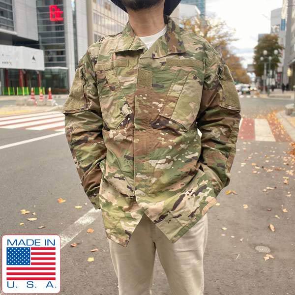 新品/USA製/実物/米軍/US ARMY/マルチカム/ジャケット【M-XL】ACU/アーミー コンバット ユニフォーム/デッドストック/D140