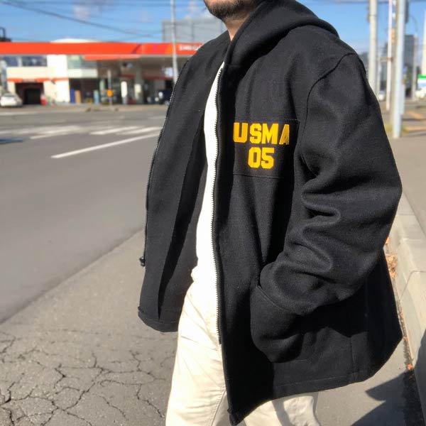 美品/実物/米軍/USMA/カデット パーカー【44R】メンズ/コート/ミリタリージャケット/アメリカ軍/古着/USA製/D141