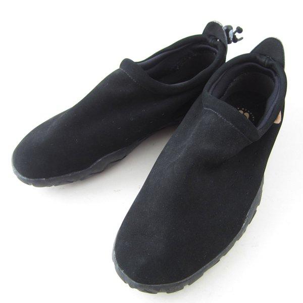 NIKE/ナイキ/エアモック/ヌバックレザー/黒【US9/27cm】メンズ/靴/スニーカー/D141