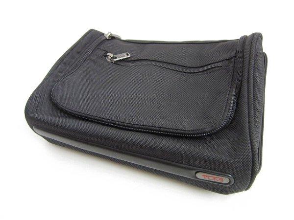 美品/TUMI/トゥミ/小分け/仕分けバッグ/黒/ボックス型/荷物の小分け・収納に/D141