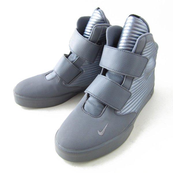 NIKE/ナイキ/フライステッパー/メタリックグレー【US10/28cm】スニーカー/メンズ/靴/D142