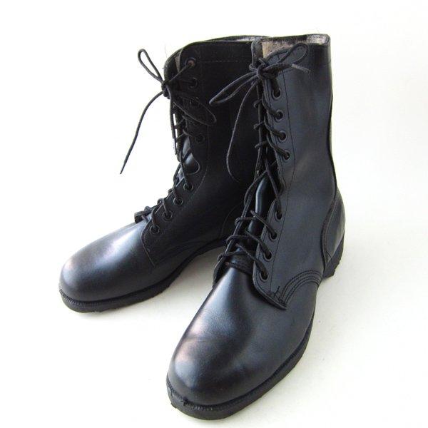 デッドストック/80's/実物/米軍/コンバットブーツ/黒【10W/幅広28cm】メンズ/靴/サバゲー/新品/未使用品/ビンテージ/D142