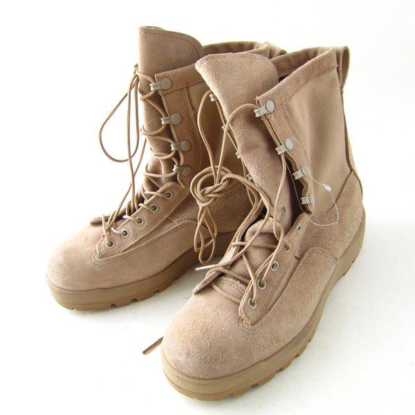 新品/実物/米軍/McRae Footwear/スエード/ゴアテックス/コンバットブーツ【26.5cm】ベージュ系/デザート/デッドストック/D142