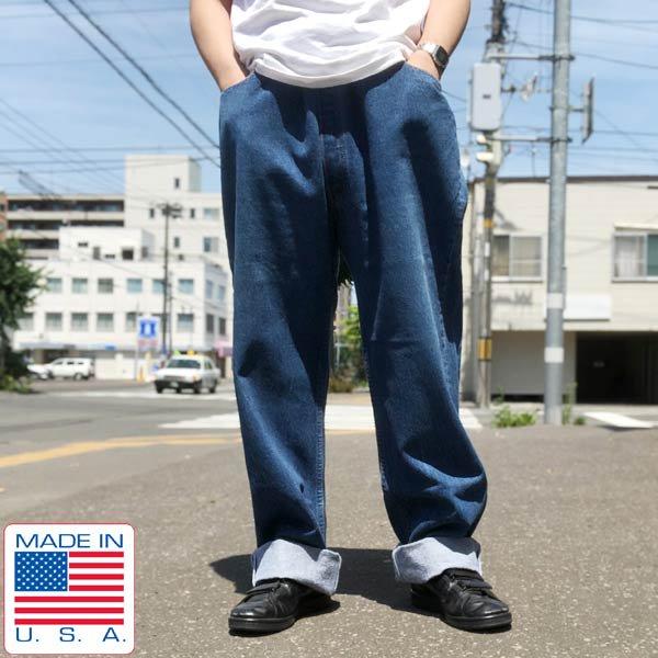 90's/USA製/リーバイス501/ジーンズ【実寸W44】Levi's/ジーパン/大きいサイズ/ビッグシルエット/アメリカ製/ビンテージ/D142