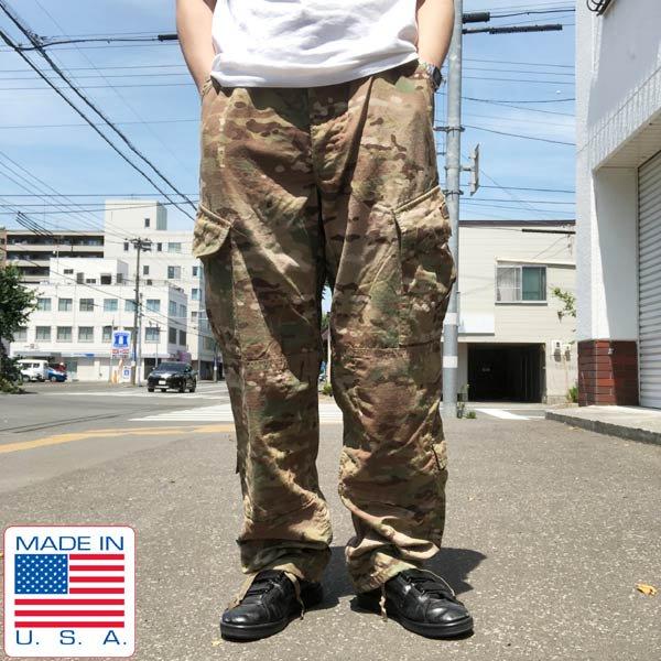 実物/米軍/US ARMY/マルチカム/コンバットパンツ【M-R】ACU/ミリタリーパンツ/古着/防虫素材/サバゲー/サバイバルゲーム/D141