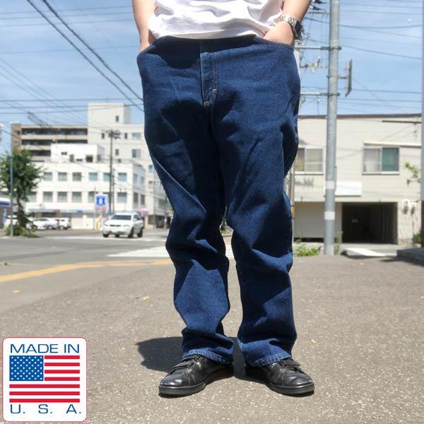 USA製/Lee/リー/ストレート/ジーンズ【実寸W37】ブルージーンズ/ジーパン/アメリカ製/D142