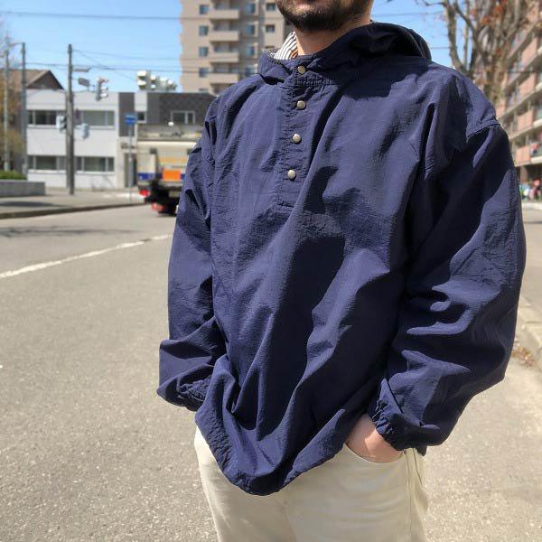 90's/GAP/オールド ギャップ/アノラック/パーカー/紺系【XL】ビッグシルエット/ビンテージ/D136