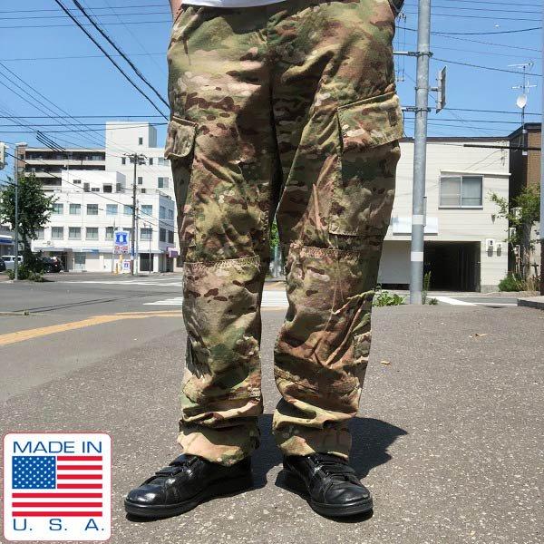 美品/USA製/実物/米軍/US ARMY/マルチカム/コンバットパンツ【M-L】ACU/ミリタリーパンツ/サバゲー/サバイバルゲーム/D141