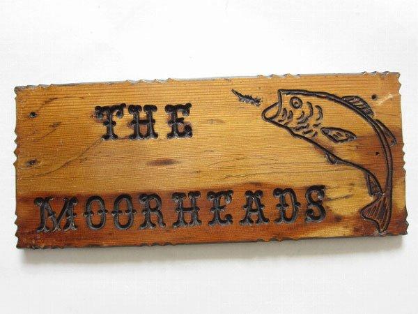 魚柄/THE MOORHEADS/木製/ウッドプレート/インテリア/什器/D110