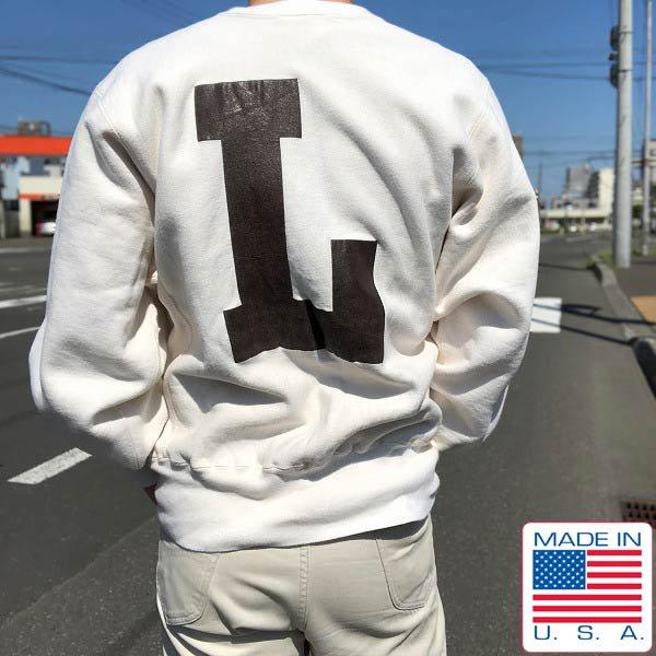 レアカラー/90's/Champion/チャンピオン/両面プリント/リバースウィーブ【L】スペシャル/スウェット/トレーナー/USA製/PV