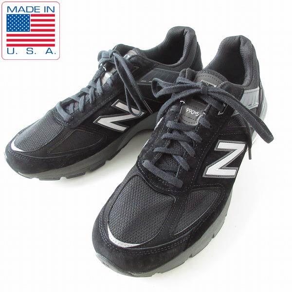 新品/USA製/ニューバランス/M990 BK5/黒【11D/29cm】990v5/スニーカー/アメリカ製/デッドストック/メンズ/靴/D143
