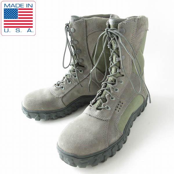 新品/USA製/ROCKY/S2V/米空軍/USAF/ABU/タクティカル ブーツ【10.5M/28.5cm】スチールトゥ/ミリタリー/米軍/靴/D143