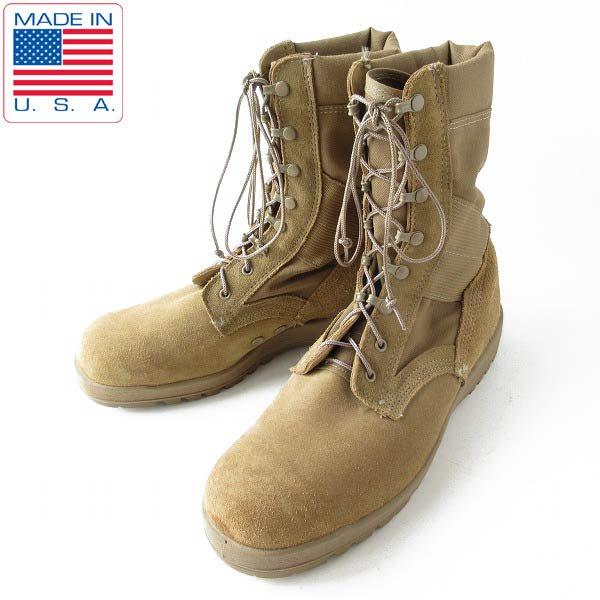 USA製/McRae/実物/米軍/OCP ACU/コンバット ブーツ/コヨーテ【幅広30cm】大きいサイズ/ミリタリーブーツ/靴/D143