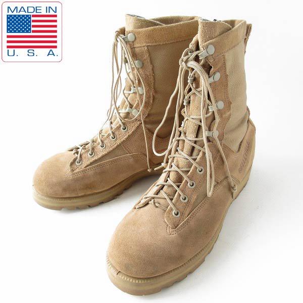 USA製/BELLEVILLE/米軍/レザー×ゴアテックス/コンバット ブーツ【28cm】ミリタリーブーツ/サバゲー/靴/D143
