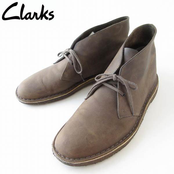 Clarks/クラークス/ORIGINALS/オイルドヌバック/デザートブーツ【10M/28cm】アイビー/アメトラ/メンズ/靴/D143
