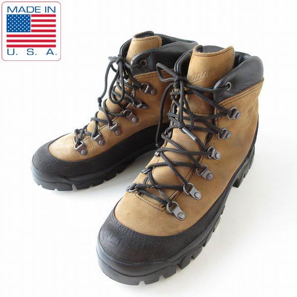 USA製/米軍/Danner/ダナー/コンバットハイカー/ブーツ/茶系【9W/27cm】ミリタリーブーツ/アメリカ製/靴/D143