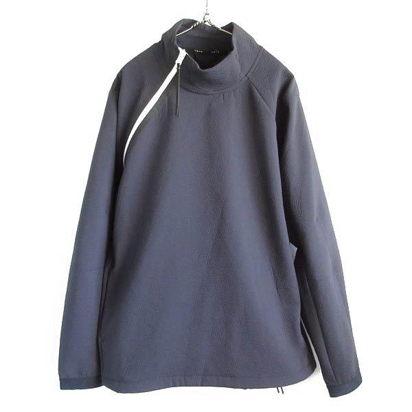 美品/NIKE/ナイキ/プルオーバー/ジャケット/紺系【XL】テックパック/アシンメトリー/メンズ/服/D143