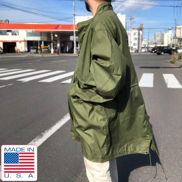 新品同様/80's/USA製/実物/米軍/M-65/フィッシュテール パーカー【L】ミリタリージャケット/モッズコート/ビンテージ/D143