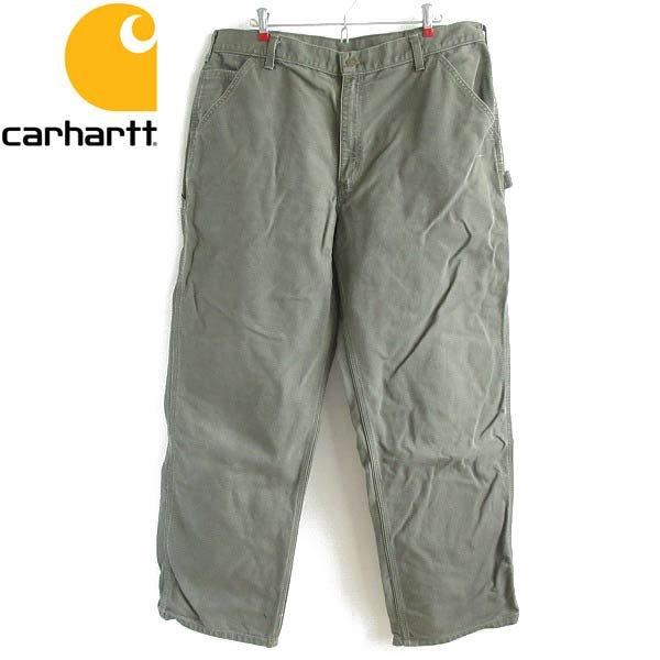 carhartt/カーハート/B11 MOS/ダック/ペインターパンツ/緑系【W38】シングルニー/ワークパンツ/D143