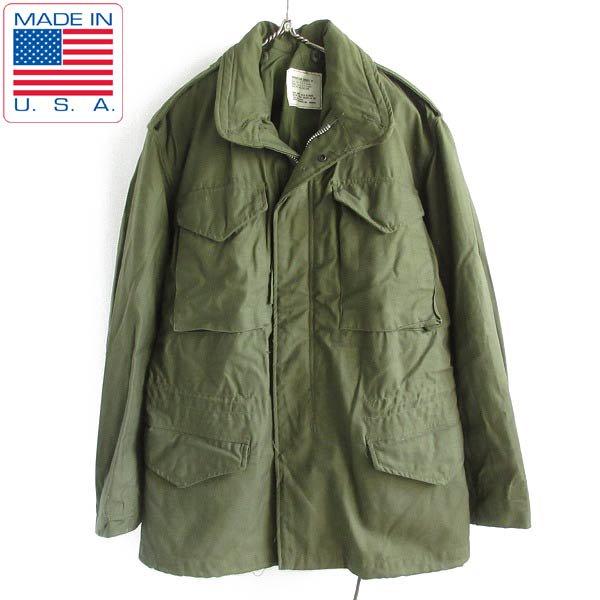 レア/新品/デッドストック/60's/実物/米軍/M-65/フィールドジャケット/2nd/アルミ ジッパー【S-R】ジップ/USA製/ビンテージ/D143