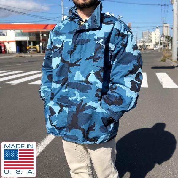 USA製/MORRIS ROTHENBERG/米軍/M-65/迷彩/フィールド ジャケット【XXL-R】着脱ライナー付き/アメリカ製/D143
