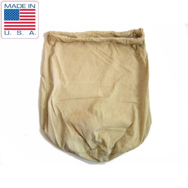 40's/USA製/実物/米軍/コットン ツイル/キャンバス/ランドリーバッグ/巾着型/アメリカ製/ビンテージ/D96