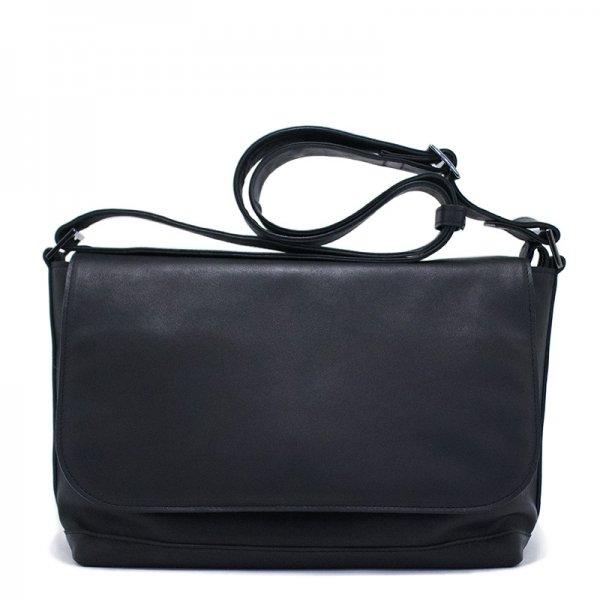 日本製 NAGATANI『BLACK SERIES』RANDY ホースレザー(馬革)本革メッセンジャーバッグ