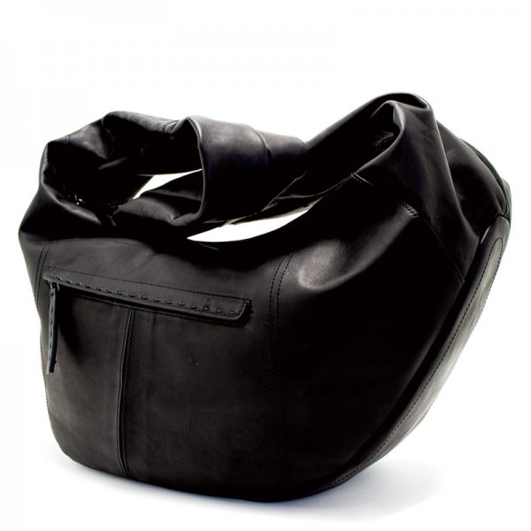 日本製 NAGATANI『BLACK SERIES』SWAN ホースレザー(馬革)本革ボディバッグ