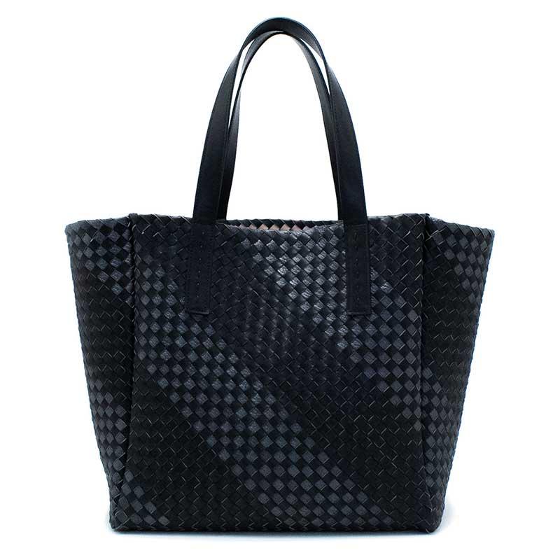 日本製 NAGATANI『BLACK SERIES』MANGROVE ホースレザー(馬革)メッシュ編み本革トートバッグ