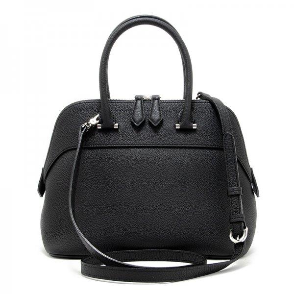 日本製 EMMY BLACK 最高級シュリンクレザー・エスポワール ハンドバッグ