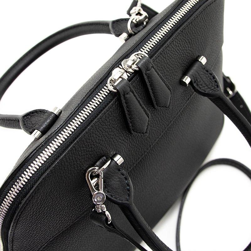 EMMY [BLACK] シュリンクレザー・エスポワール 本革2WAYショルダーバッグ 日本製