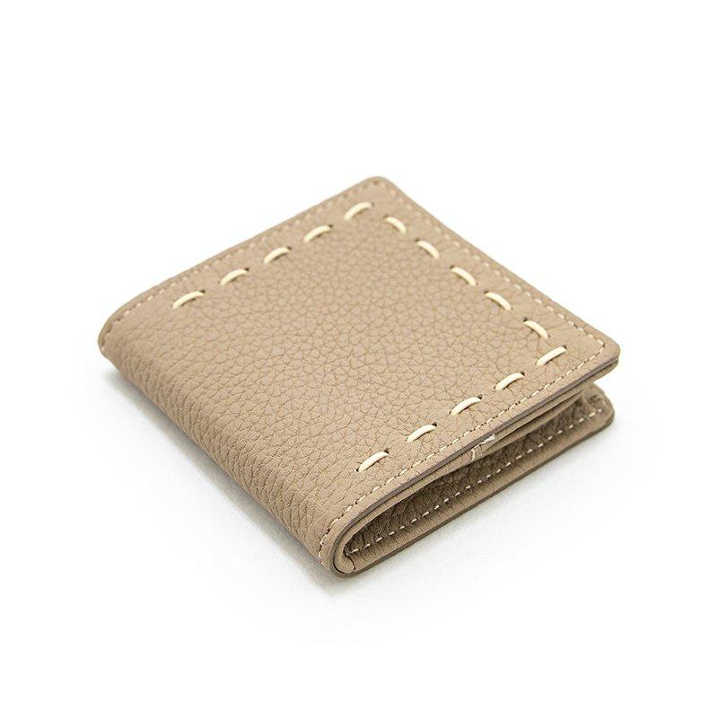 ELLA [BEIGE] シュリンクレザー・エスポワール 本革コインパース 日本製