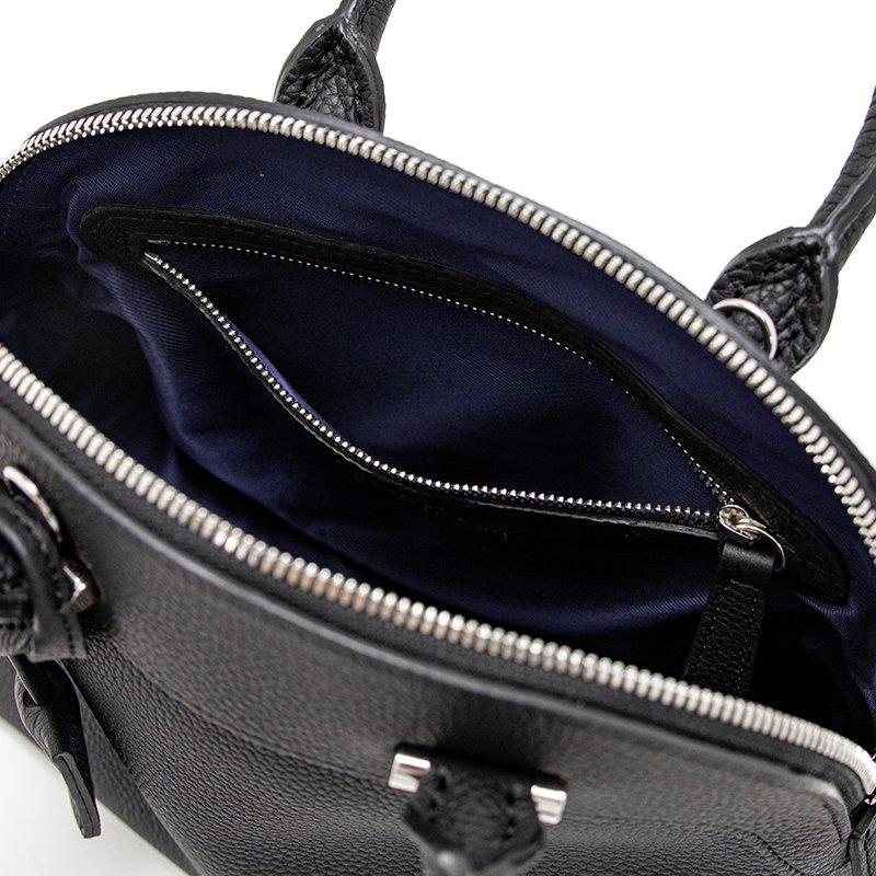 【先行予約商品】 ELLIE [BLACK] シュリンクレザー・エスポワール 本革2WAYショルダーバッグ 日本製