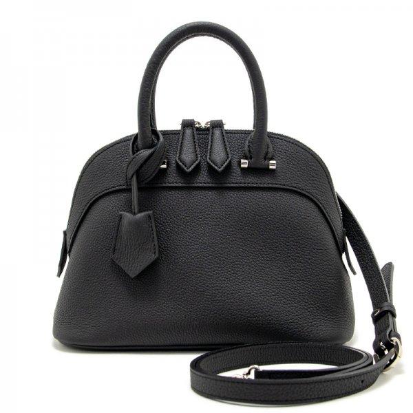 ELLIE [BLACK] シュリンクレザー・エスポワール 本革2WAYショルダーバッグ