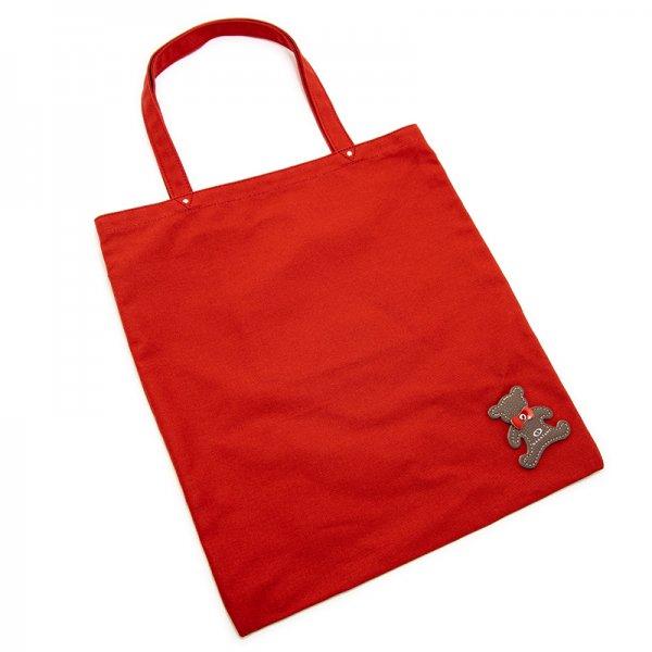 日本製ブランド「NAGATANI」CANVAS TOTE ECO-03K [RED] キャンバス地・帆布トート/エコバッグ