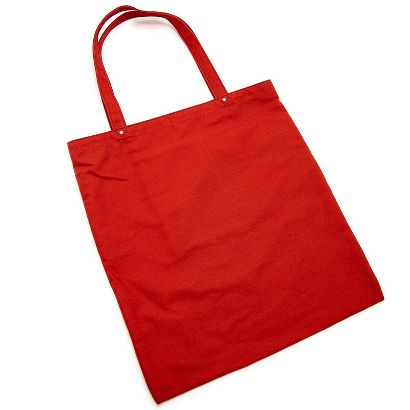 TOTE 03 [RED] キャンバス地(帆布) トート・エコバッグ 日本製