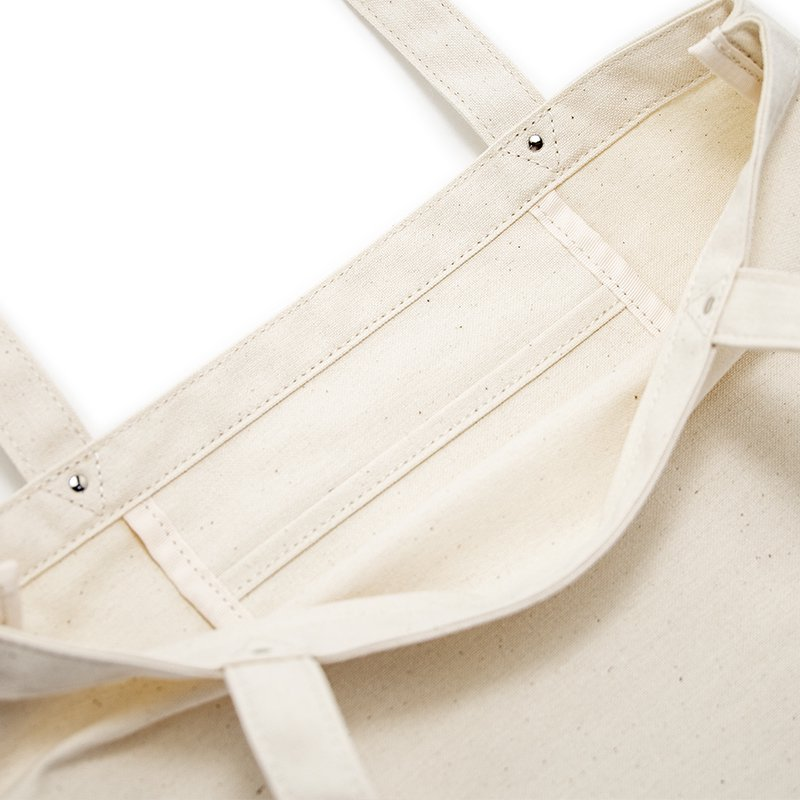 TOTE 03 [IVORY] キャンバス地(帆布) トート・エコバッグ 日本製