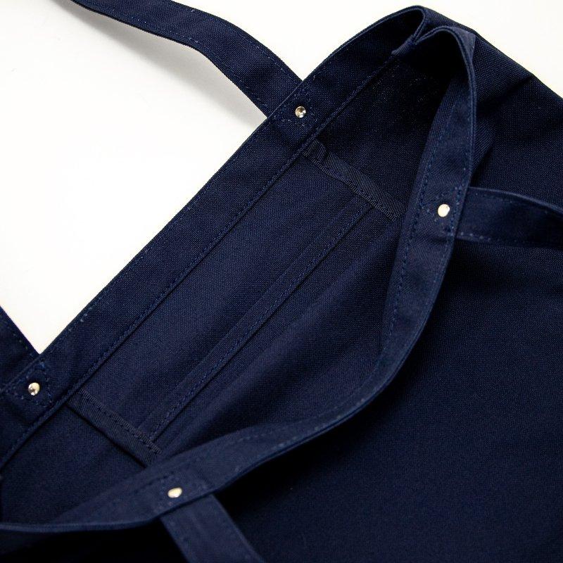 TOTE 03 [NAVY] キャンバス地(帆布) トート・エコバッグ 日本製