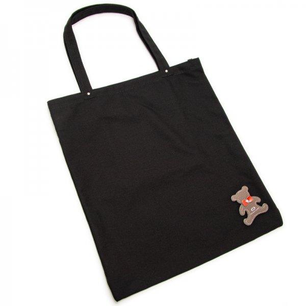 日本製ブランド「NAGATANI」CANVAS TOTE ECO-03K [BLACK]キャンバス地・帆布トート/エコバッグ
