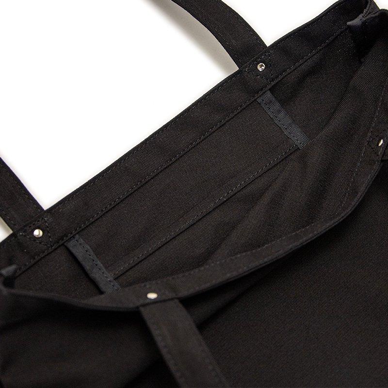 TOTE 03 [BLACK] キャンバス地(帆布) トート・エコバッグ 日本製