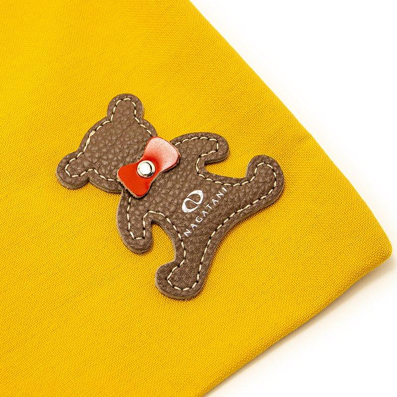 TOTE 03 [MUSTARD] キャンバス地(帆布) トート・エコバッグ 日本製