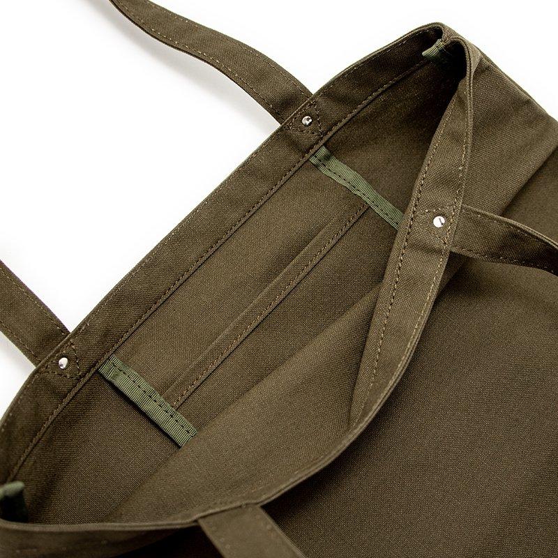 TOTE 03 [KHAKI] キャンバス地(帆布) トート・エコバッグ 日本製