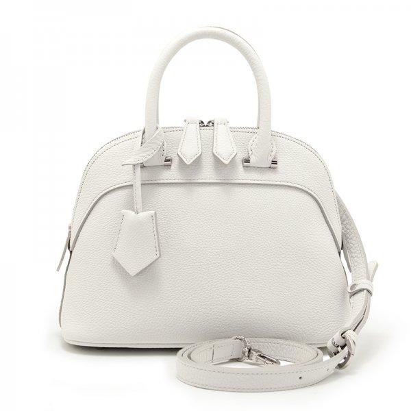 ELLIE [WHITE 夏限定色] シュリンクレザー・エスポワール 本革2WAYショルダーバッグ