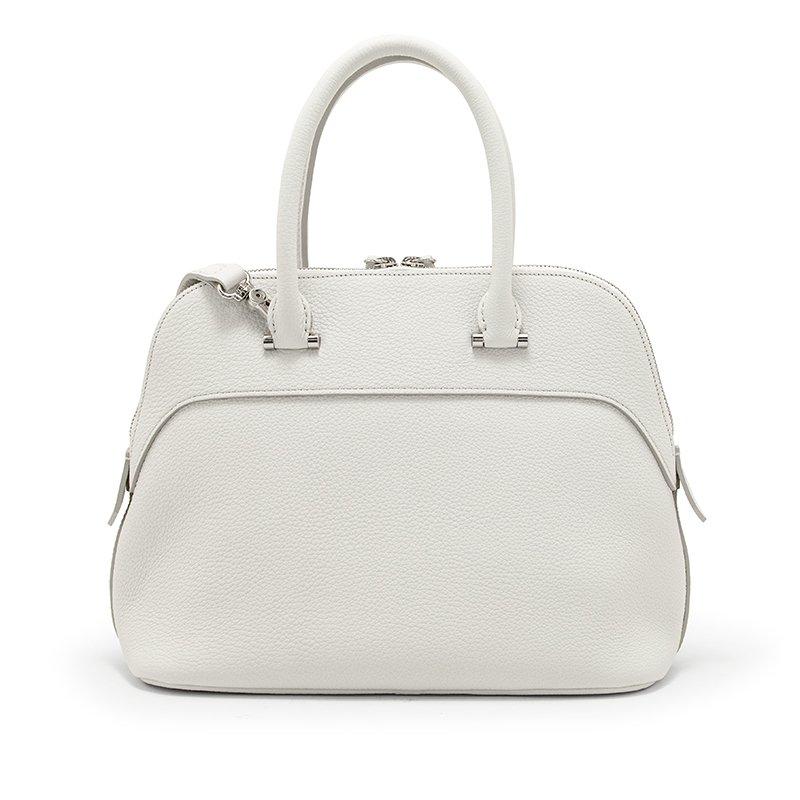 EMMY [WHITE 夏限定色] シュリンクレザー・エスポワール 本革2WAYショルダーバッグ 日本製