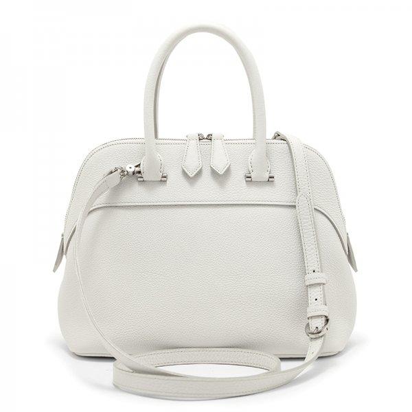 EMMY [WHITE 限定色] シュリンクレザー・エスポワール 本革2WAYショルダーバッグ