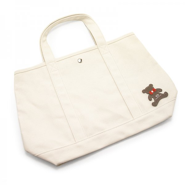 TOTE 01 [IVORY] キャンバス地(帆布) トート・エコバッグ