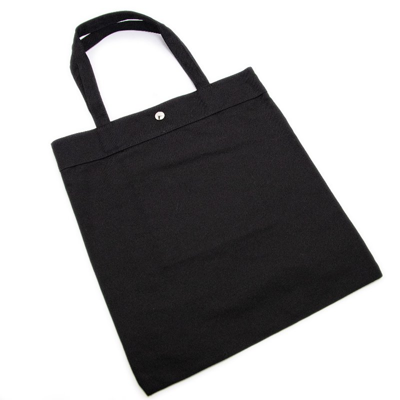 TOTE 04 [BLACK] キャンバス地(帆布) トート・エコバッグ 日本製