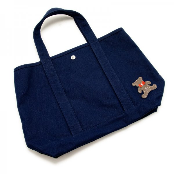 TOTE 01 [NAVY] キャンバス地(帆布) トート・エコバッグ