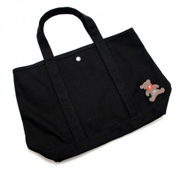 TOTE 01 [BLACK] キャンバス地(帆布) トート・エコバッグ